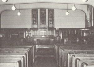 青山学院(緑岡)教会礼拝堂(神学部礼拝堂)